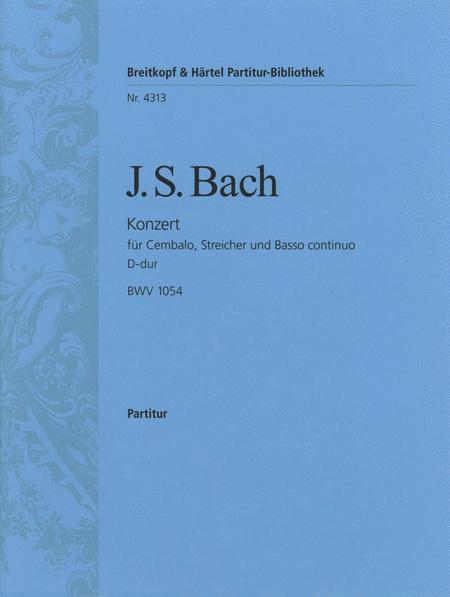 Cembalokonzert D-dur BWV 1054