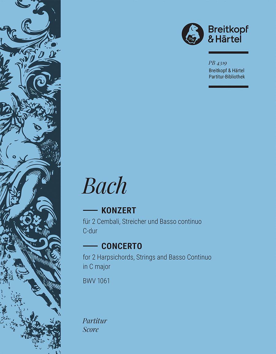 Cembalokonzert C-dur BWV 1061
