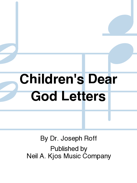 Children's Dear God Letters