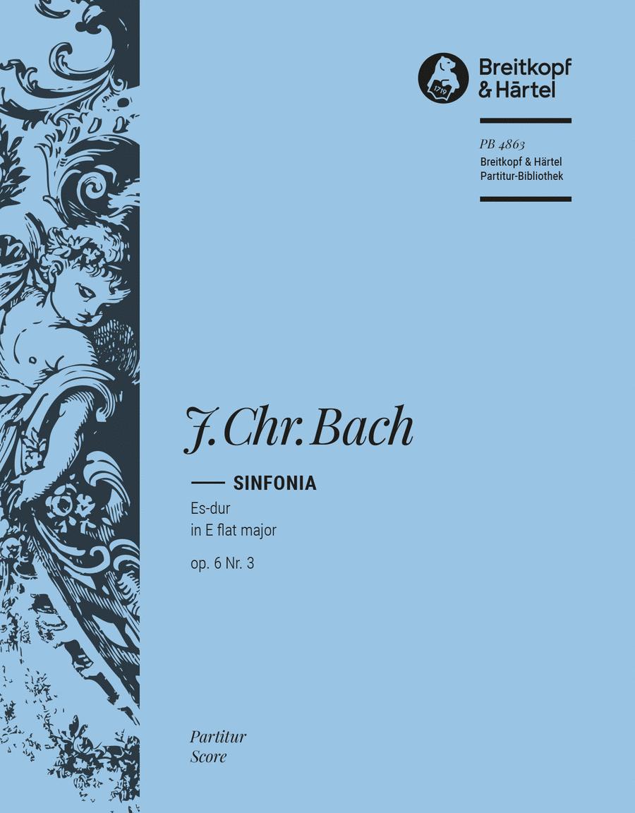 Sinfonia Es-dur op. 6/3