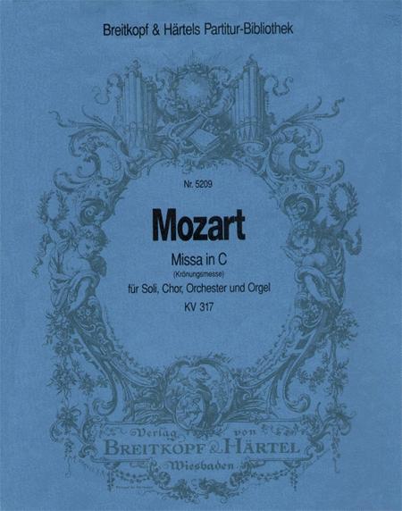 Missa in C KV 317 (Kronungsm.)