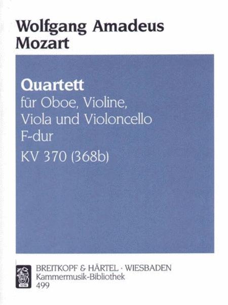 Quartett F-dur KV 370 (368b)