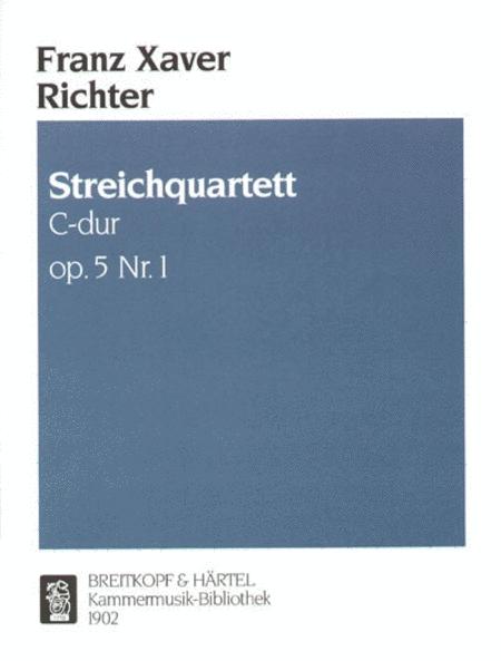 Streichquartett C-dur op. 5/1