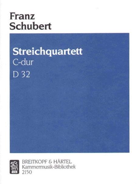 Streichquartett C-dur D 32