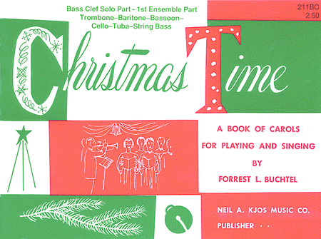 Christmas Time - 1st Ensemble Bc Book