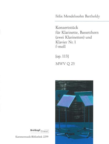 Konzertstuck 1 f-moll op. 113