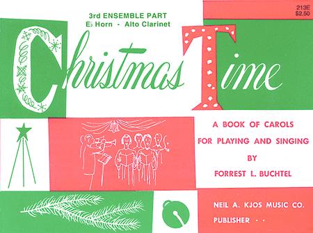 Christmas Time - 3rd Ensemble Alto Book