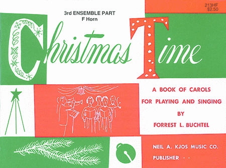 Christmas Time - 3rd Ensemble F Hn Book