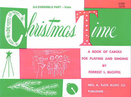 Christmas Time - 3rd Ensemble Va Book