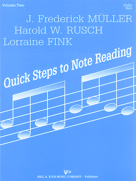 Quick Steps To Notereading, Vol 2 - Violin