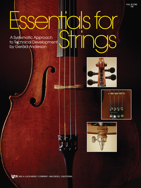 Essentials For Strings - Score