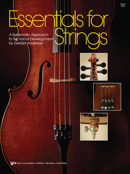 Essentials For Strings - Viola