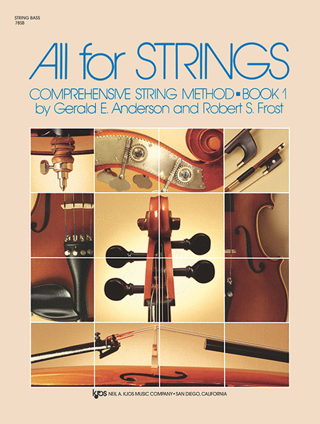 All For Strings Book 1 - String Bass