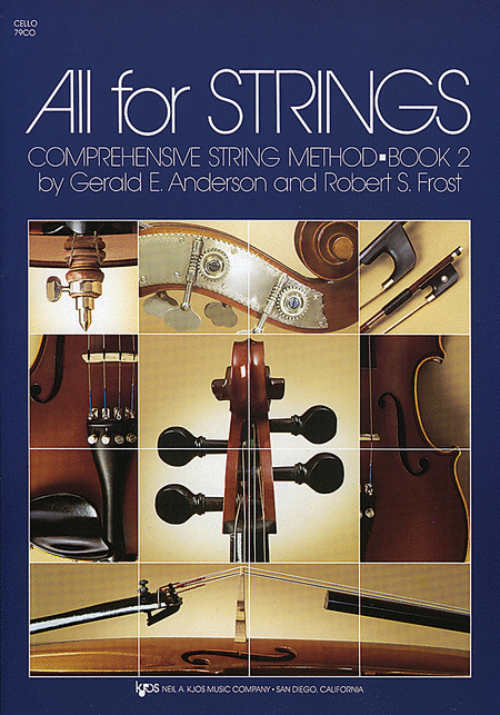All For Strings Book 2 - Cello