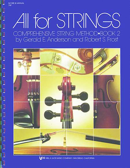 All For Strings Book 2 - Score & Manual