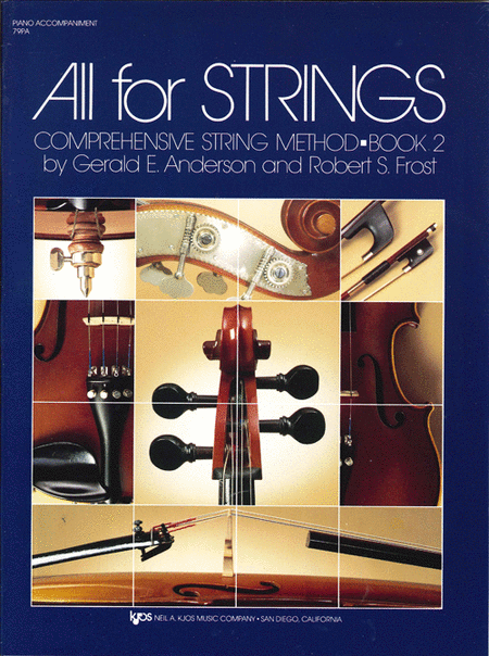 All For Strings Book 2 - Piano