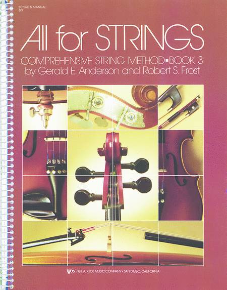 All For Strings Book 3 - Score