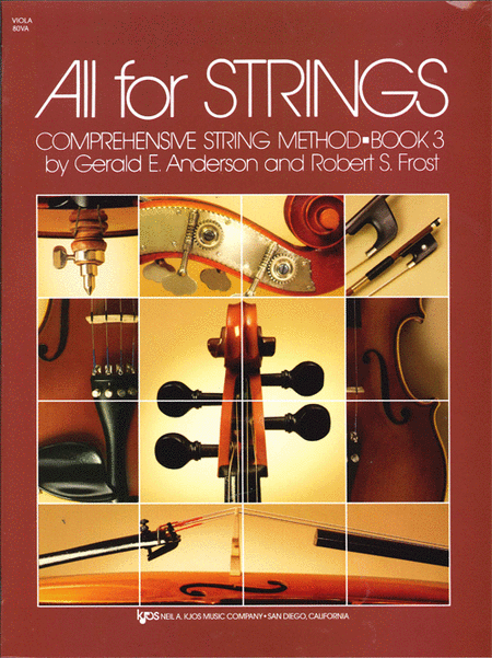 All For Strings Book 3 - Viola