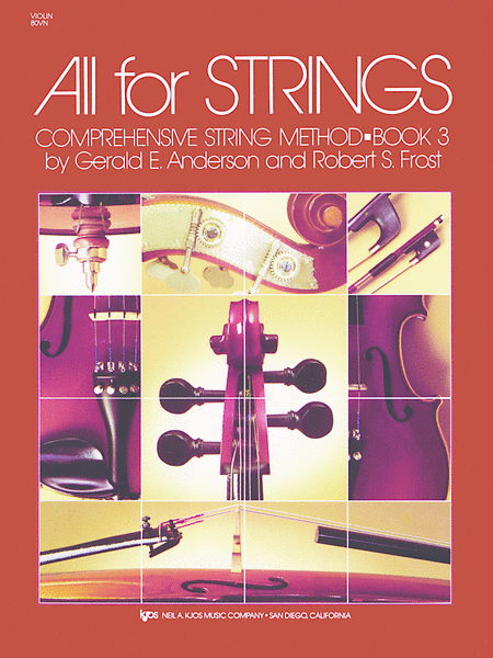 All For Strings Book 3 - Violin
