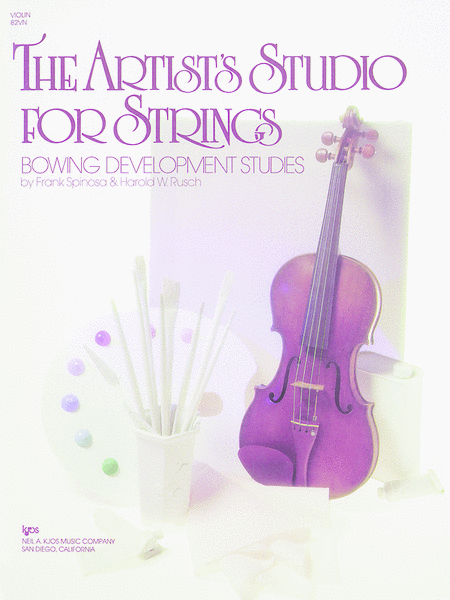 The Artist's Studio for Strings: Bowing Development Studies