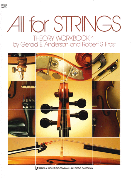 All For Strings Theory Workbook 1 - Cello