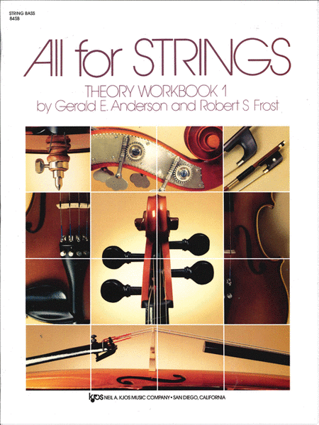 All For Strings Theory Workbook 1 - SB
