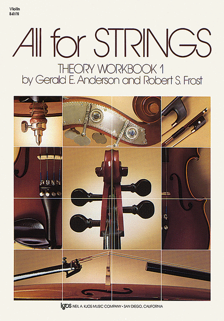All For Strings - Theory Workbook 1 (Violin)