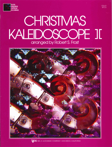 Christmas Kaleidoscope, Book 2 - Cello