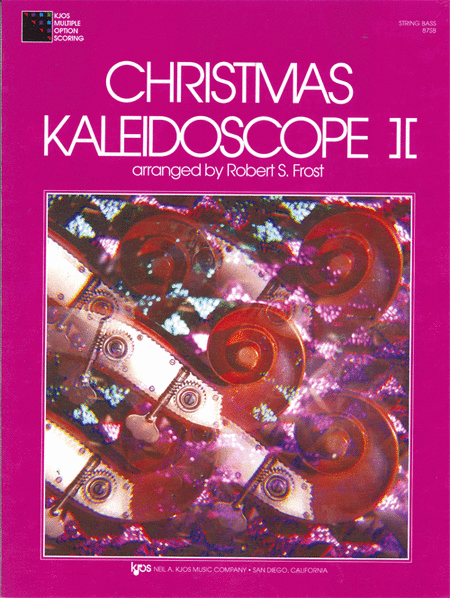 Christmas Kaleidoscope, Book 2 - String Bass