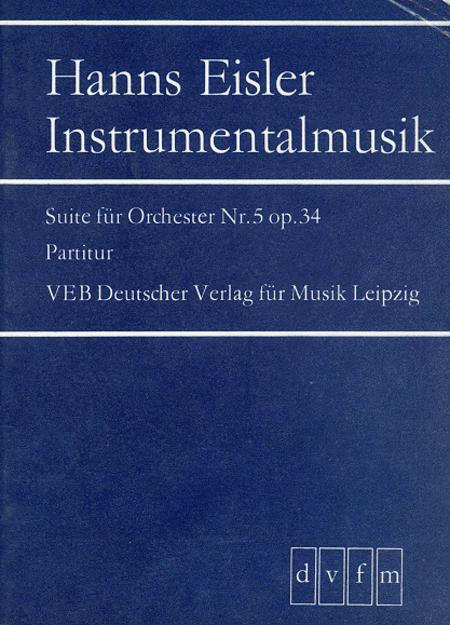 Suite Nr. 5 op. 34