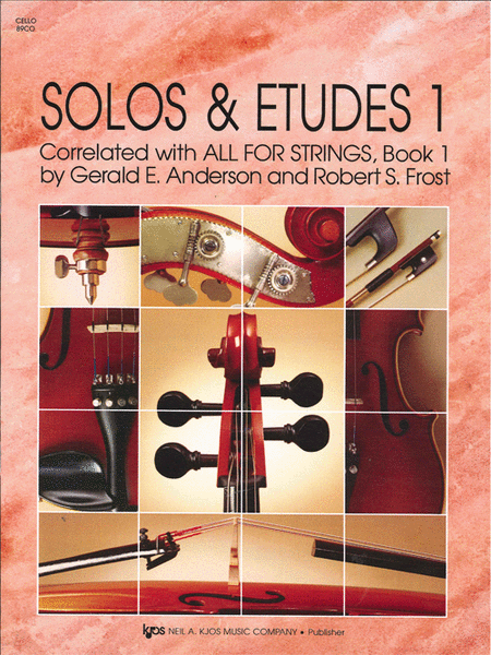Solos And Etudes, Book1 - Cello