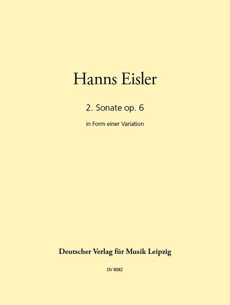 Zweite Sonate op. 6