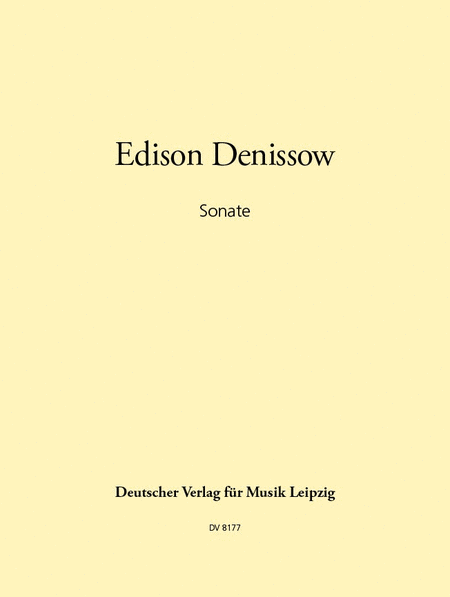 Sonate fur Violine und Orgel