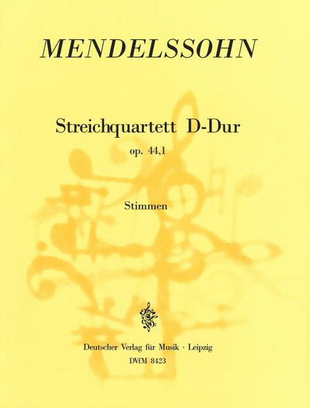 Streichquartett D-dur op. 44/1