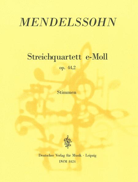 Streichquartett e-moll op.44/2