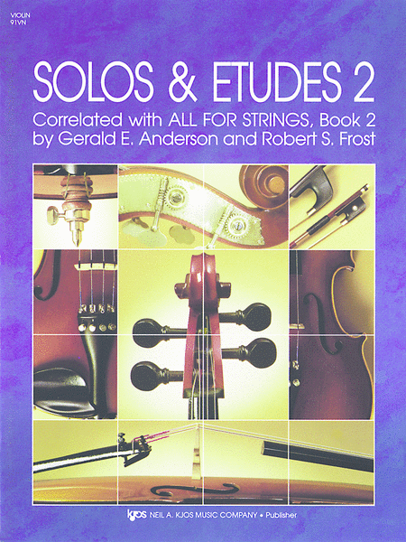 Solos and Etudes, Book 2 - Violin