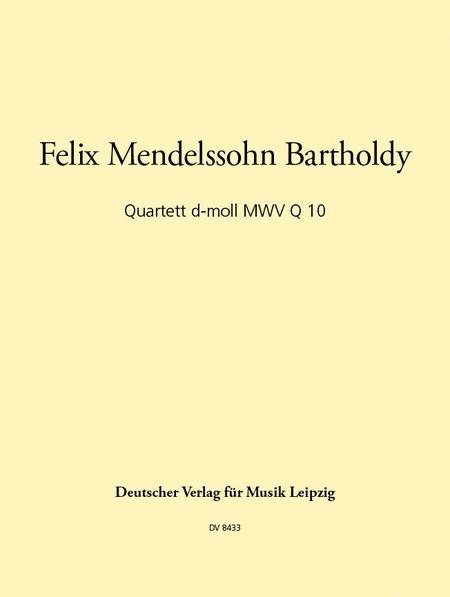 Quartett d-moll
