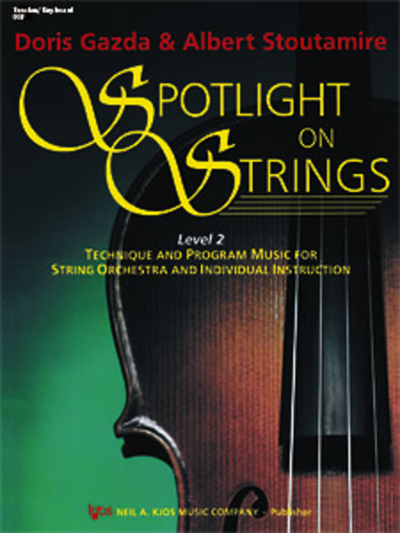 Spotlight on Strings, Book 2 - Score