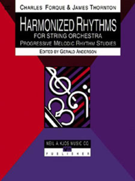 Harmonized Rhythms For Strings - Cello