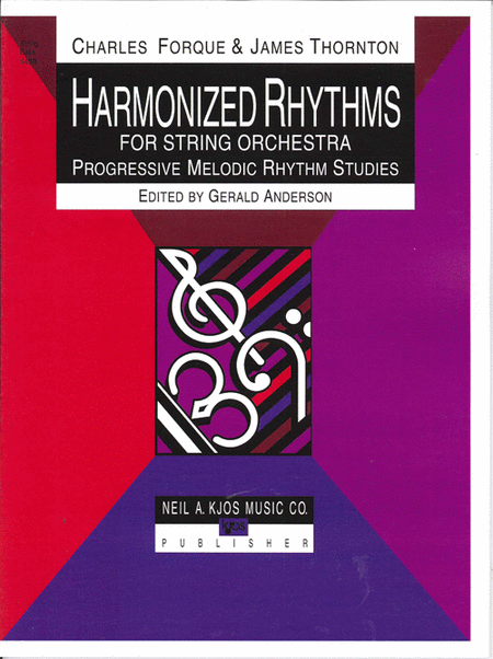 Harmonized Rhythms For Strings - String Bass