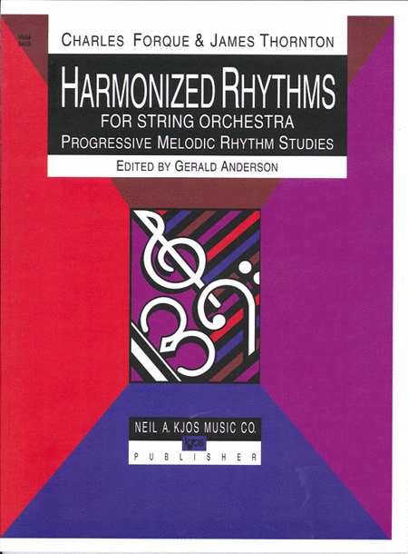 Harmonized Rhythms For Strings - Viola