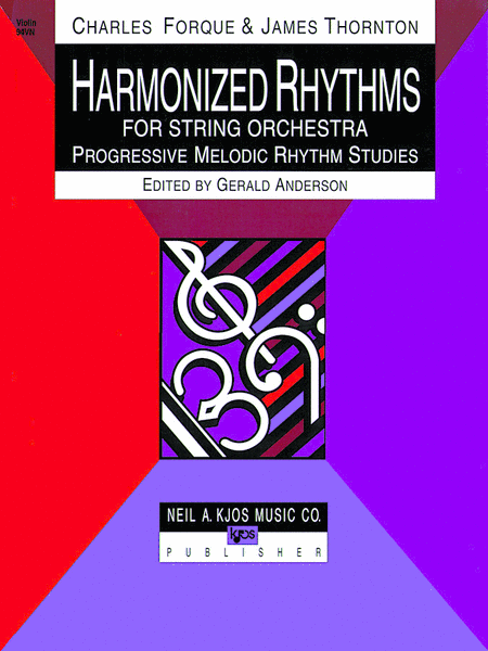 Harmonized Rhythms For Strings - Violin