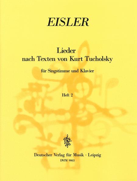 Tucholsky - Lieder Heft 2