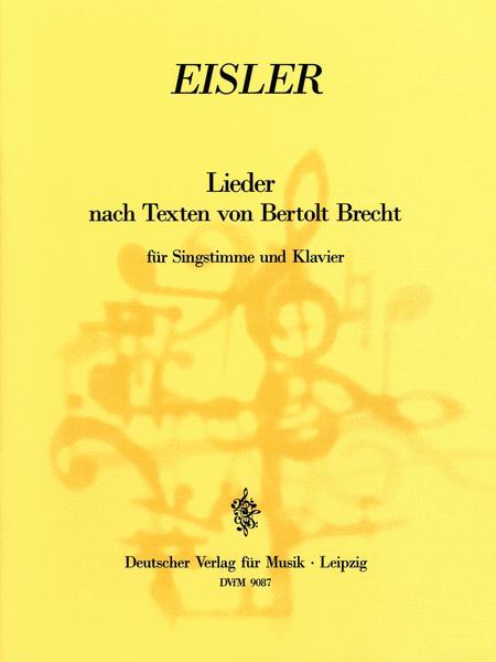 Lieder nach Texten von Brecht