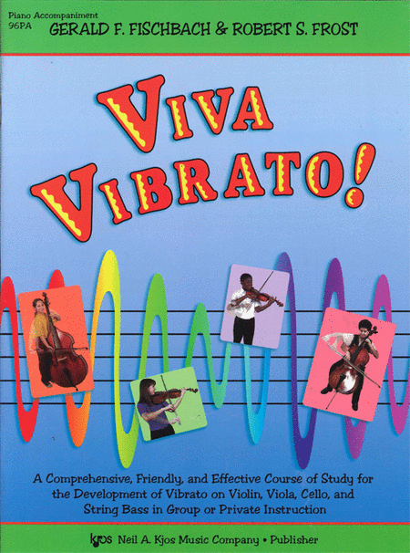 Viva Vibrato! - Piano Accompaniment