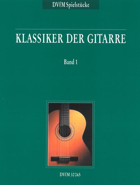 Klassiker der Gitarre, Band 1