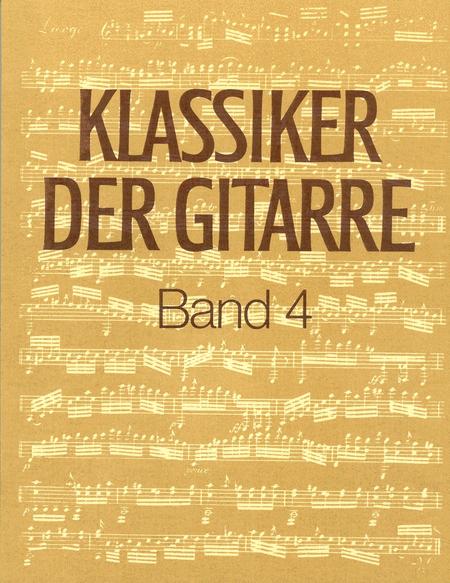 Klassiker der Gitarre, Band 4