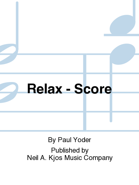 Relax - Score