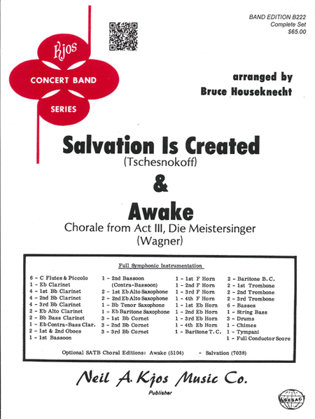 Salvation is Created & Awake