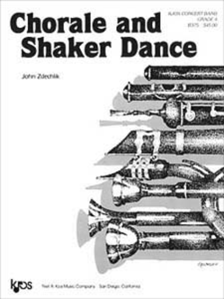 Chorale and Shaker Dance - Score
